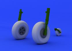 Wheels for 1/24 Hawker Typhoon Mk. IB - Airfix A19002
