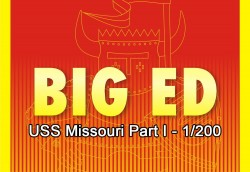 Big Ed Fotoätzteile Set - Part 1 für 1:200 USS Missouri - Trumpeter 03705