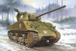U.S. Medium Tank M4A3(76)W Sherman - 1:35