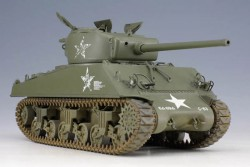 U.S. Medium Tank M4A3(76)W Sherman - 1/35