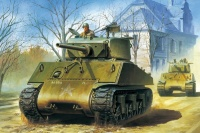 U.S. Medium Tank M4A3E2 Sherman - Jumbo - 1:35