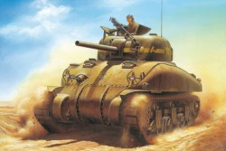U.S. Medium Tank M4A1 Sherman Direct Vision Type