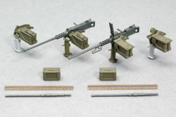 Browning M2 Machine Gun Set mit Lafette - 1:35