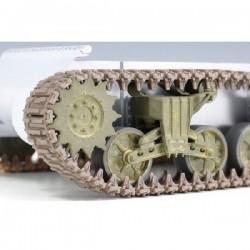 M4 Sherman VVSS Suspension Set B (Late) mit T-49 Ketten