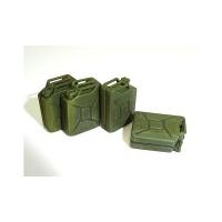 WWII Britische Kanister Set - Wasser- und Benzinkanister - 1:35