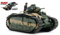 Französischer Kampfpanzer Char B1 bis  - Motorisiert