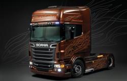 Scania R730 ''Black Amber'' - 1:24
