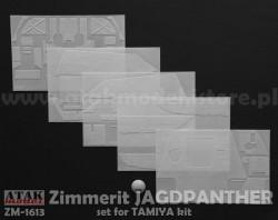 Zimmerit für Tamiya Jagdpanther