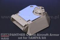 Turm Zusatzpanzerung Flugabwehr - Tamiya Panther G