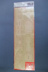Holzdeck für 1:150 Chinesischer Dampfer Taiping - Meng OS-001