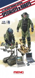US Explosive Ordnance Disposal - Specialists & Robots - 1:35