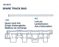 Spare Track Bag (Spare Track Link x8, Link Pin x5) for 56010