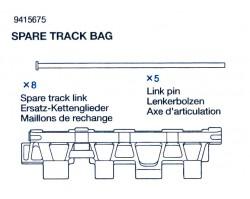 Ersatzkettenglieder (x8) und Bolzen (x5) für Tamiya 56010