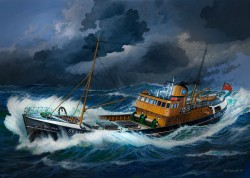 Northsea Fishing Trawler / Nordsee Fischdampfer - 1:142
