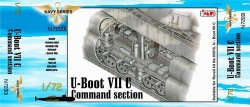 U-Boot Typ VII C - Zentrale Sektion für Revell 05015 - 1:72