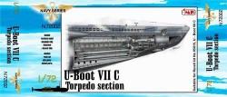 U-Boot Typ VII C - Bug Torpedoraum für Revell 05015 - 1:72