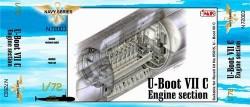 U-Boot Typ VII C - Diesel Maschinenraum für Revell 05015 - 1:72