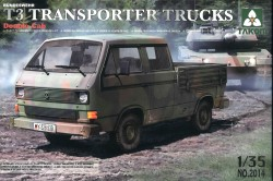 Bundeswehr T3 Transporter - Pritschenwagen - 1:35