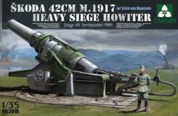 Skoda 42cm M.1917 - 42cm Haubitze (t) - Belagerung von Sevastopol 1942