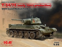 T-34/76  - Early 1943 Production - Soviet Medium Tank - 1/35