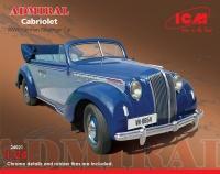 Admiral Cabriolet - German WWII Passenger Car - 1/24