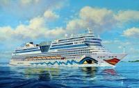 Kreuzfahrtschiff AIDAblu, AIDAsol, AIDAmar, AIDAstella - 1:400