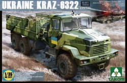 Ukraine KrAZ 6322 Schwerer LKW - Späte Version