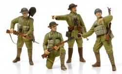 WWI British Infantry with Small Arms & Equipment - 1/35