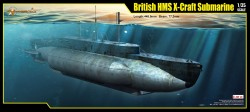 British X-Class / X-Craft Submarine - 1/35