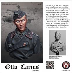 Otto Carius 1922-2015 - Büste - 1:10