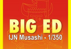Big Ed Photo-Etched Parts Set for 1/350 IJN Musashi - Tamiya 78031 - 1/350