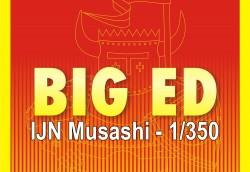 Big Ed Fotoätzteile Set für 1:350 IJN Musashi - Tamiya 78031