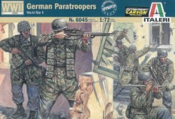 German Paratroopers WWII - 1/72