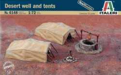 Desert well and tents - 1/72