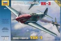 YAK-3 Sowjetisches Jagdflugzeug - 1:48
