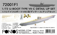 Detail Set für 1:72 U-Boot Typ VII C - Revell 05015 - 1:72