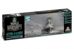 World of Warships - German Battleship BISMARCK - 1/700