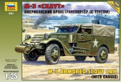 US M3 Armored Scout Car - mit Verdeck