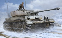 German Panzerbeobachtungswagen / Panzerbefehlswagen IV Ausf. J - Medium Tank - 1/16