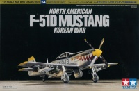 North American F-51D Mustang - Korean War - 1:72
